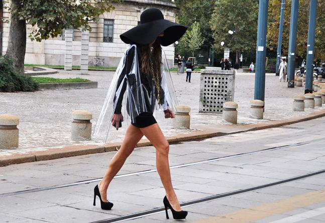 Tommy Ton YSL moment
