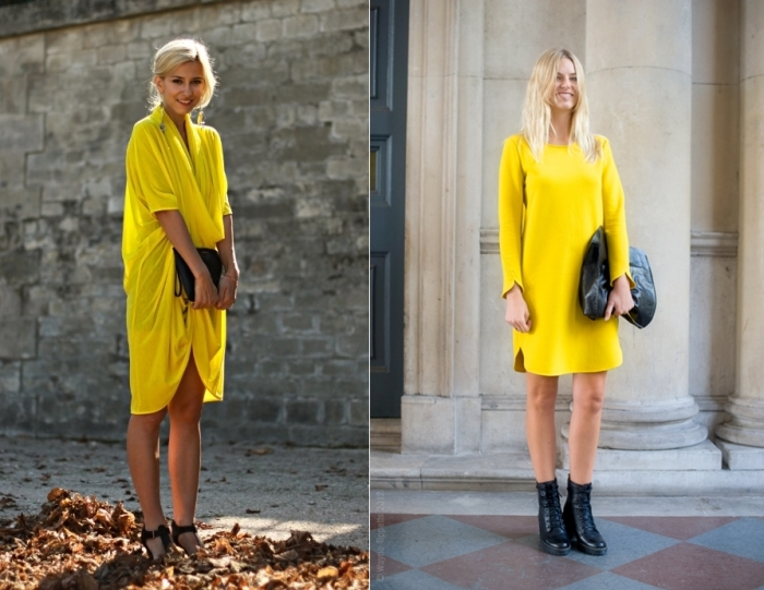 street-style-yellow-dress-2012-fashion