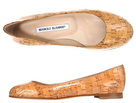 manolo-blahnik-cork-ballerina