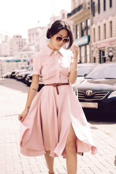shirt-dress-pink-leather-belt-street-style-fashion-trends-vestido-camisero-tendencias-moda